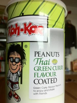peanuts-cacahuetes-curry-vert-thai