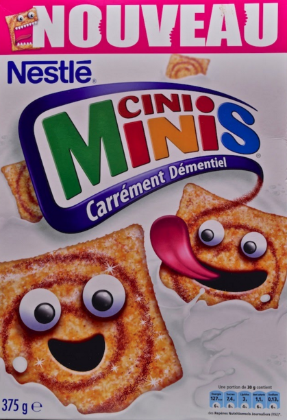 paquet cinni minis cereales cannelle produits a la cannelle